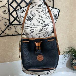 Authentic Dooney & Bourke Drawstring Bag Medium
